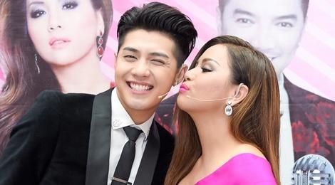 Noo Phuoc Thinh cuoi tit mat khi duoc Minh Tuyet hon hinh anh