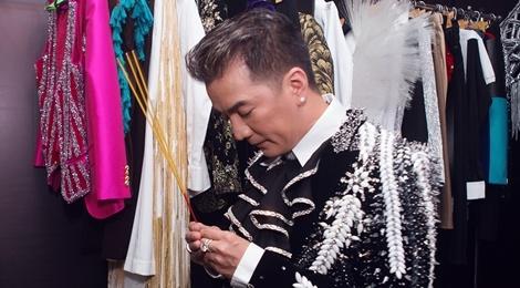 Mr. Dam lap ban tho NS Thanh Nga, Phuc Dien o hau truong hinh anh