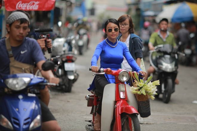 Doan Trang tai xuat voi MV nhac phim 'Sai Gon, anh yeu em' hinh anh 1
