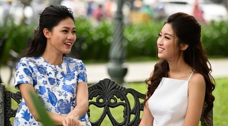 Hoa hau My Linh do dang voi Thanh Tu hinh anh