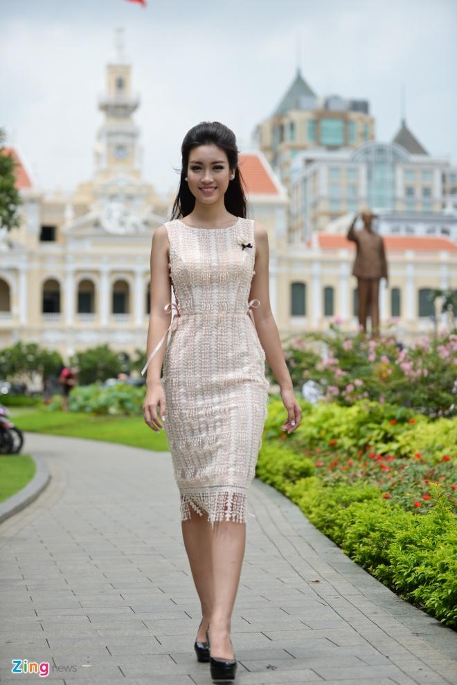 Hoa hau My Linh do dang voi Thanh Tu hinh anh 4