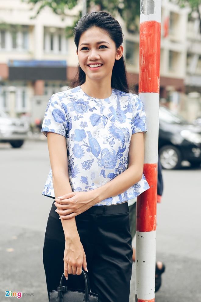 Hoa hau My Linh do dang voi Thanh Tu hinh anh 8