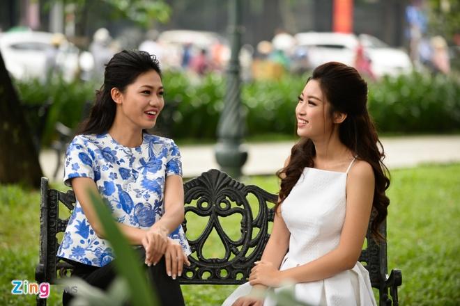 Hoa hau My Linh do dang voi Thanh Tu hinh anh 6