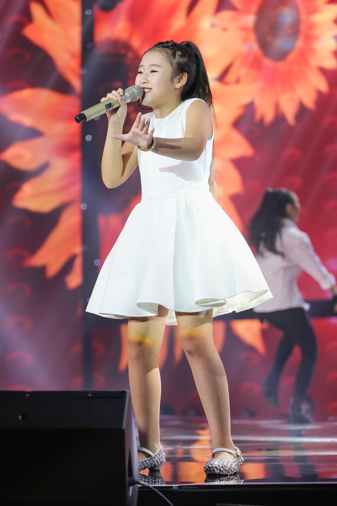 Ban ket The Voice Kids anh 4