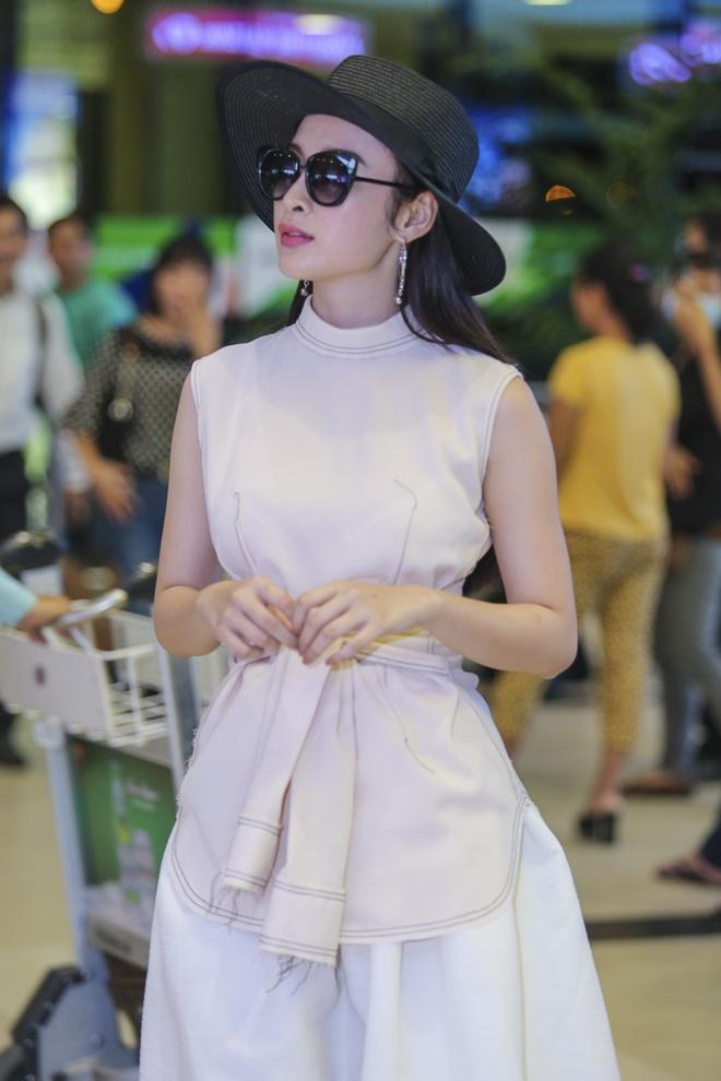 Angela Phuong Trinh than mat voi ban trai Vo Canh o san bay hinh anh 3
