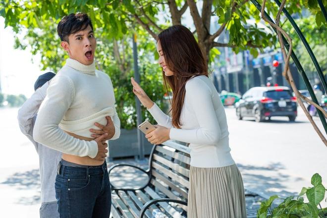 Ai Phuong Va Ho Vinh Khoa tinh tu trong MV moi anh 6