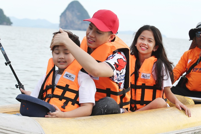 Team Noo Phuoc Thinh di du thuyen 5 sao kham pha vinh Phuket anh 4