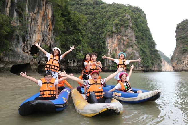 Team Noo Phuoc Thinh di du thuyen 5 sao kham pha vinh Phuket anh 5