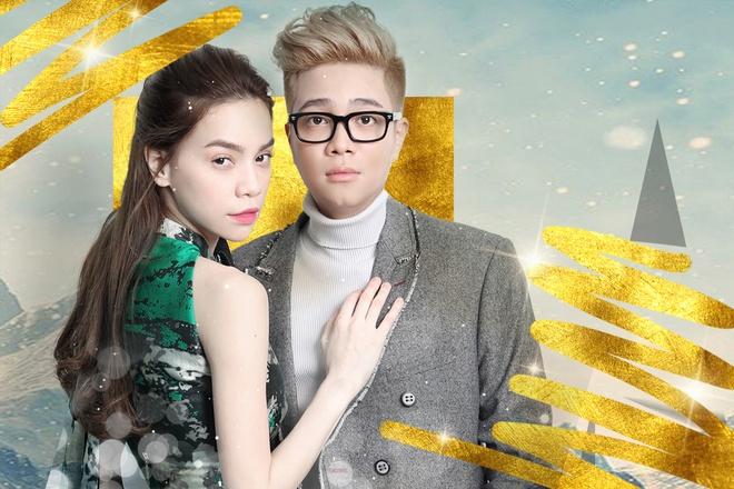 Bui Anh Tuan lang man cung tinh cu Huong Tram trong album hinh anh 2