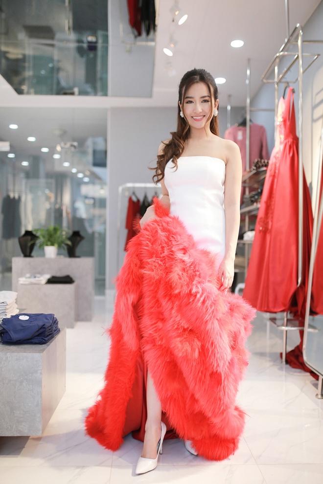 Trang Moon xinh dep truoc gio sang Han tham du le trao giai hinh anh 3