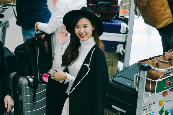 Midu, Trang Moon sanh dieu o san bay, sang Han du su kien hinh anh 7