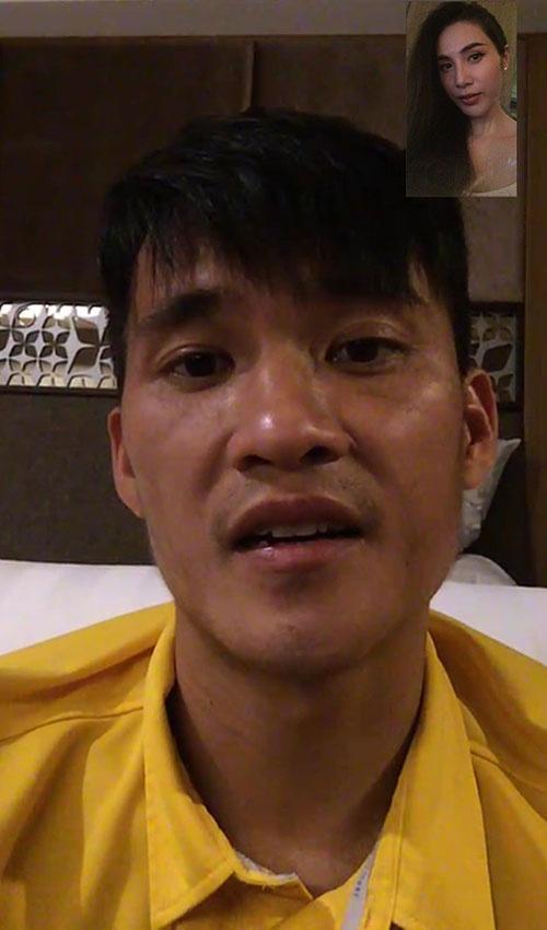 Cong Vinh goi dien cho Thuy Tien sau khi thua ban ket AFF Cup anh 1