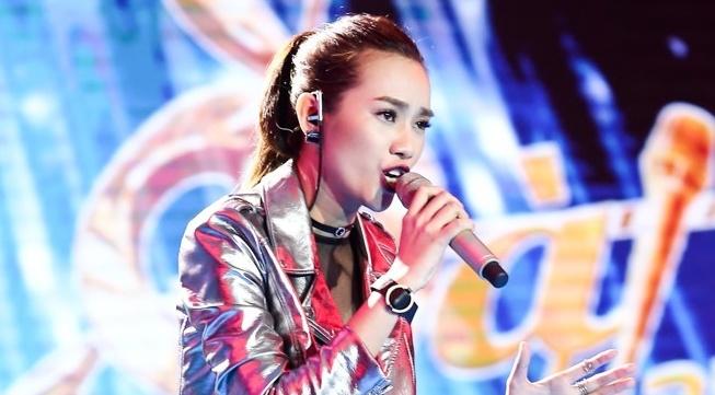 Hot girl cua Sing My Song khien Duc Tri nho Ho Ngoc Ha hinh anh