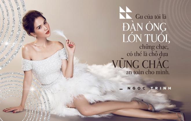 Phat ngon cua Ngoc Trinh ve chuyen tinh voi dai gia lon tuoi hinh anh