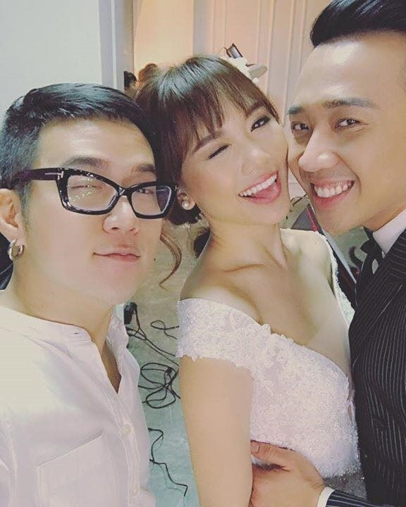 Tran Thanh chi moi 300 khach cho tiec cuoi voi Hari Won anh 3