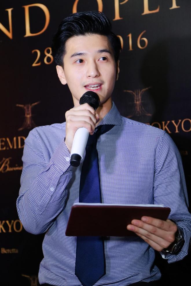 Binh Minh duoc Lan Phuong cham soc o su kien hinh anh 6
