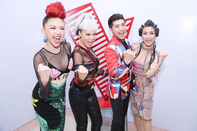 Ra mat dan huan luyen vien The Voice 2017 anh 11