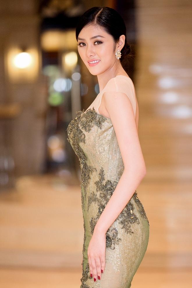 Huynh Tien dien Hanbok xinh dep giao luu cung Miss Korea anh 7
