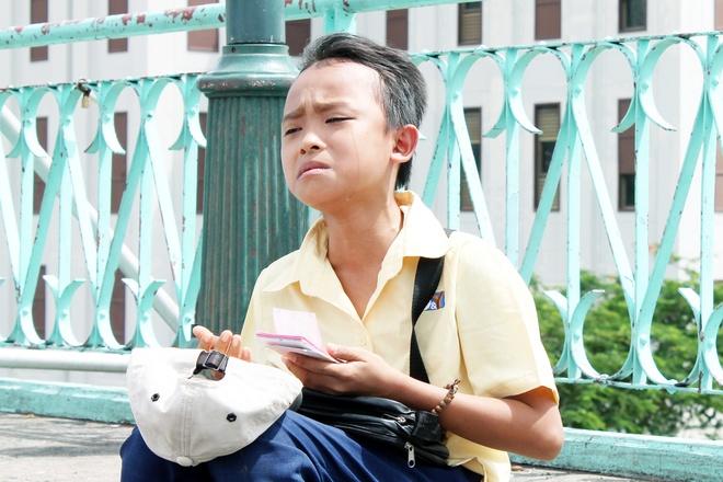 Ho Van Cuong khoc khi quay MV dau tay anh 4