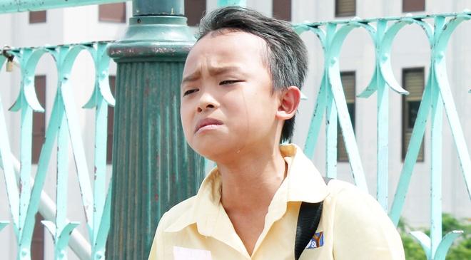 Ho Van Cuong bat khoc khi quay MV dau tay hinh anh