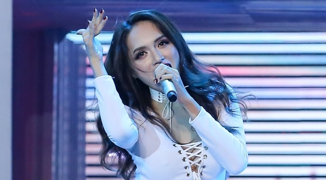 Huong Giang Idol thang ap dao Tim tai The Remix hinh anh