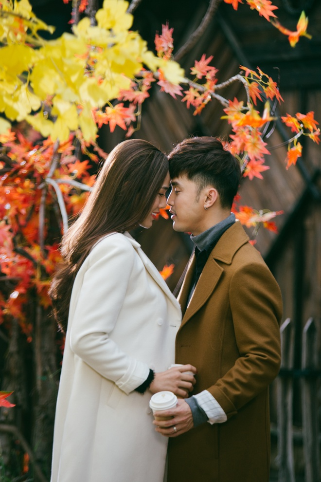 Ung Hoang Phuc au yem om,  hon Kim Cuong trong MV moi anh 4