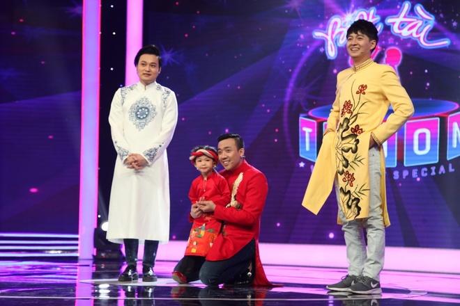 Tran Thanh, Chi Pu ne phuc MC nhi 4 tuoi hinh anh 2