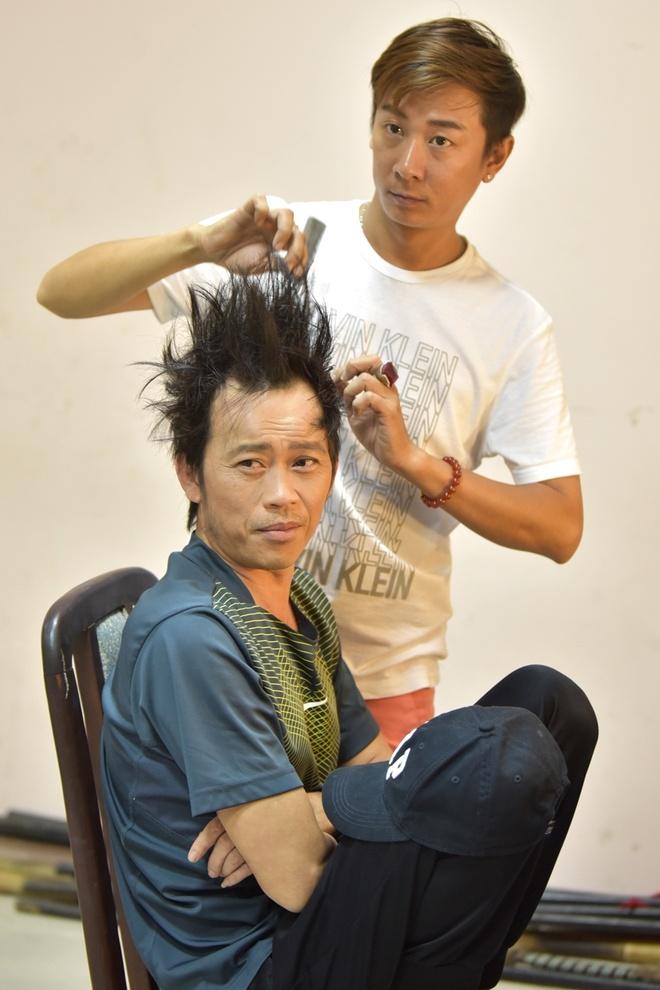Hoai Linh binh dan di quay hinh game show hinh anh 5