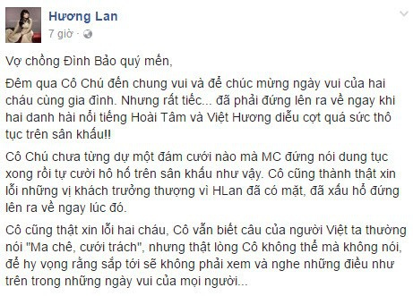 Clip Viet Huong dien tho tuc khien danh ca Huong Lan bo ve hinh anh 1
