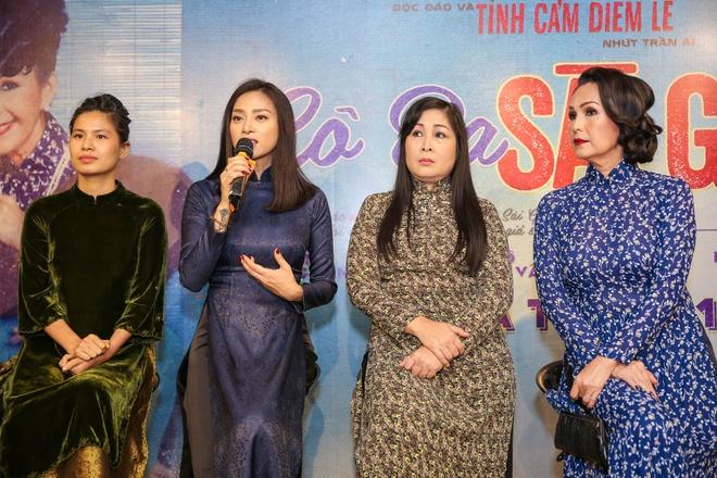 Ra mat dan dien vien phim 'Co Ba Sai Gon' cua Ngo Thanh Van hinh anh 4