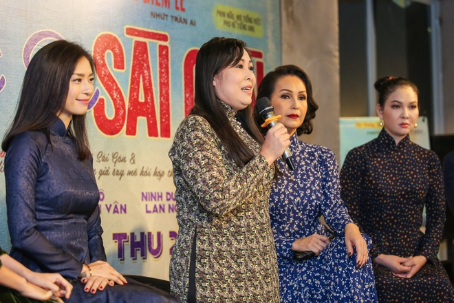 Ra mat dan dien vien phim 'Co Ba Sai Gon' cua Ngo Thanh Van hinh anh 5