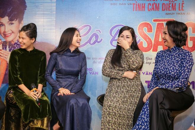 Ra mat dan dien vien phim 'Co Ba Sai Gon' cua Ngo Thanh Van hinh anh 6