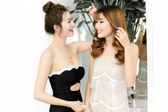 Dan my nhan showbiz Viet tao dang tai su kien hinh anh 5