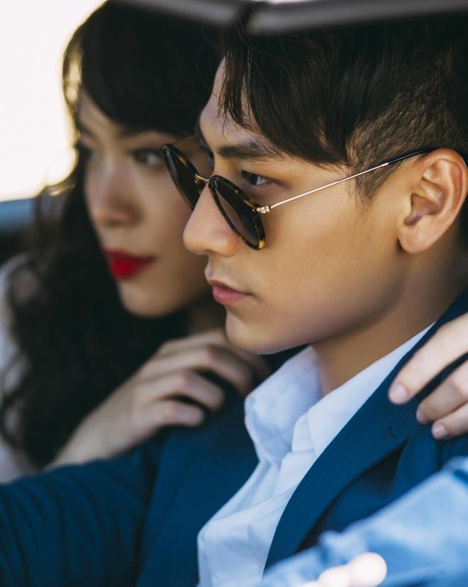 Isaac tinh cam voi 'ban sao Tang Thanh Ha' trong MV moi hinh anh 7