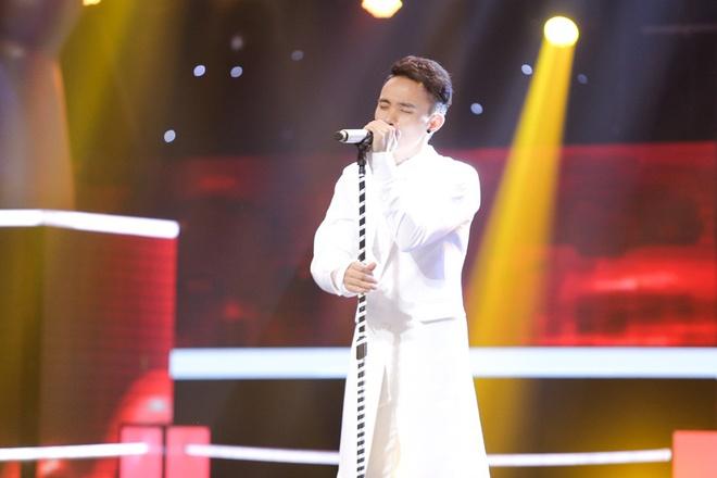Toc Tien khien Thu Minh bat khoc tren ghe nong The Voice hinh anh 5