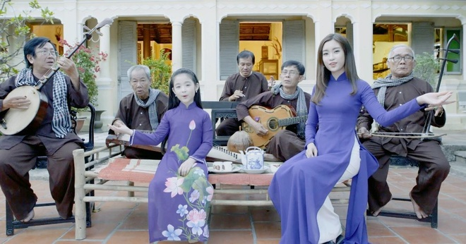 Hoa hau My Linh quay MV Da co hoai lang anh 2