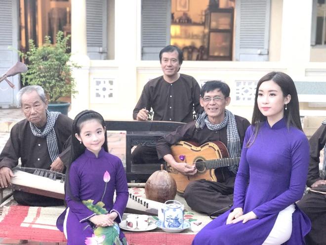 Hoa hau My Linh quay MV Da co hoai lang anh 1