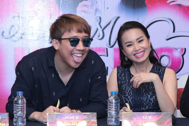 Tran Thanh hua se bot khoc khi ngoi ghe nong game show moi hinh anh 2