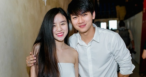 Hoai Lam dan ban gai Bao Ngoc cung di dien hinh anh
