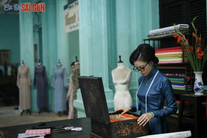 Tao hinh khac la cua Ngo Thanh Van trong 'Co Ba Sai Gon' hinh anh 1