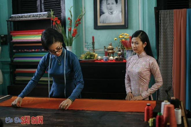 Tao hinh khac la cua Ngo Thanh Van trong 'Co Ba Sai Gon' hinh anh 2