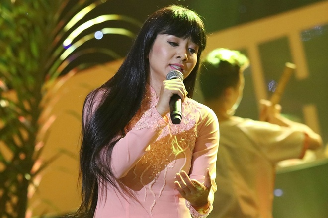 Thuy Hien hat Goi nho que huong hinh anh