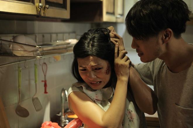 Phuong Thanh dua nan bao hanh gia dinh len phim ngan anh 1