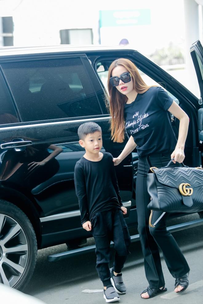 Ho Ngoc Ha dua con trai Subeo di My luu dien hinh anh 1
