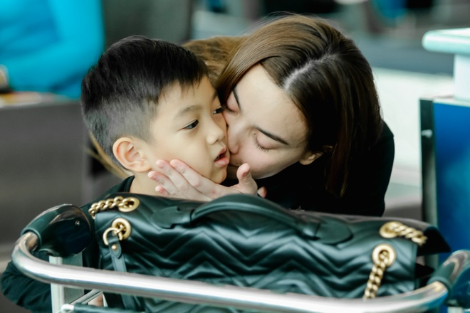 Ho Ngoc Ha dua con trai Subeo di My luu dien hinh anh 5