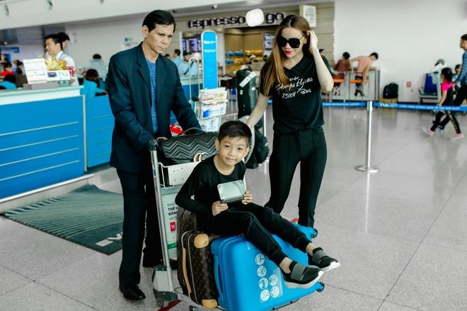 Ho Ngoc Ha dua con trai Subeo di My luu dien hinh anh 7