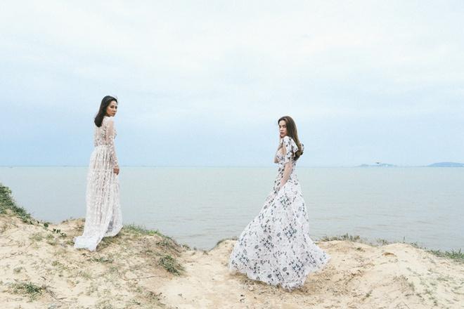 Quay MV song ca, Thu Minh va Ho Ngoc Ha chi co mot canh chung duy nhat hinh anh 1
