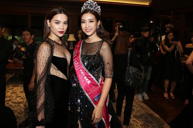 Ho Ngoc Ha, Do My Linh gap go dan hoa hau the gioi o Thai Lan hinh anh 8