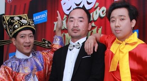Tien Luat thay thiet thoi khi lam viec cung Tran Thanh, Truong Giang hinh anh