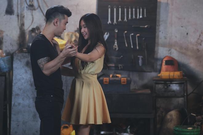 Hot girl Han Quoc dong MV cho Ung Hoang Phuc hinh anh 1